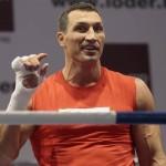 Владимир Кличко вернется на боксерский ринг 10 декабря