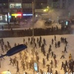 В Киеве произошла драка между ультрас и фанатами команды Бешикташ
