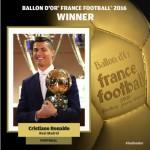 Роналду в четвертый раз стал обладателем «Золотого мяча»