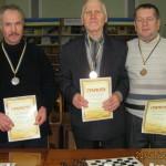 В Хотине состоялось личное первенство района по шашкам среди мужчин