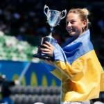14-летняя украинка выиграла юниорский Australian Open