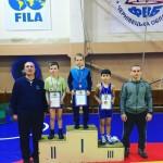 Юные борцы соревновались в Черновицкой ОДЮСШ