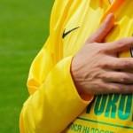Футболисты ФК Александрия спели Червону руту для президента
