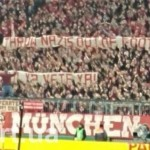Фанаты «Баварии» вывесили баннер против Романа Зозули