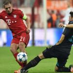 Бавария разгромила лондонский Арсенал, а Реал оказался сильнее Наполи