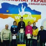 Богдана Ящук завоевала серебро чемпионата Украины по вольной борьбе