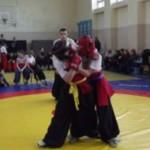 В Черновцах впервые провели соревнования по боевому гопаку