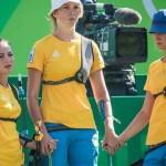 Буковинская спортсменка с командой победила россиянок