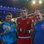 Степан Грекул получил бронзу на взрослом чемпионате Европы