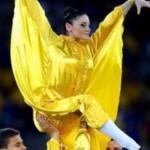 Гимнастка из Черновцов участвует в шоу на открытии каждого матча Евро-2012 в столице
