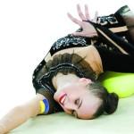 В столичном Дворце спорта – гимнастический цветник