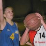 Кубани вышли на третью строчку Всеукраинской юношеской баскетбольной лиги