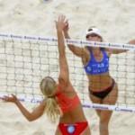 На Новоселиччині состоялись соревнования по пляжному волейболу среди моделей