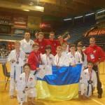 Каратисты Максимума завоевали золото в Сербии