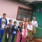 В оздоровительном лагере на Буковине открыли первую Олимпийскую библиотеку