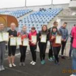 В Черновцах состоялись соревнования по легкой атлетике среди воспитанников училищ
