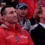 Как проходили открытые тренировки перед боем Кличко и Пулева