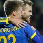 Фанаты развернули надпись на стадионе Буковина в Беларуси