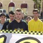 Фанаты черновицкой Буковины и ФК Тернополь провели марш в Черновцах