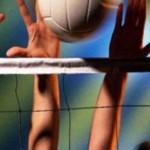 Новоселицкие волейболисты сыграли товарищеский матч с командой Суперлиги