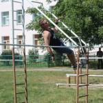 Открытые соревнования по воркауту провели в Черновицкой области