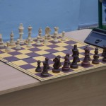 В дворике черновицкой Ратуши устроили шахматный турнир