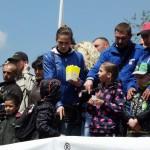 Чемпионат Украины по флэт трека в Черновцах собрал несколько сотен зрителей