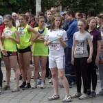 В Черновцах перед Бегом Мира соревновались команды школьников и студентов