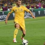 Сборная Украины по футболу сыграла вничью с командой Латвии