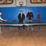 В Черновицком училище радиоэлектроники провели первенство по настольному теннису