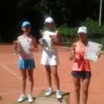Во всеукраинском турнире Буковинское лето приняли участие 80 юных теннисистов