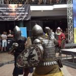 Рыцарские бои на турнире ММА в Черновцах