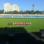 ФК Буковина » сыграла в молдавском городе Бельцы
