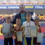 Черновицкие борцы вернулись с достижениями из Хмельницкой области