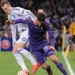 Динамовцы не смогли пройти итальянскую Фиорентину и вылетели из Лиги Европы