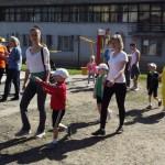 Спортивный праздник Мама, папа, я — олимпийская семья провели в Черновцах