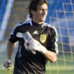 Бывший вратарь Буковины Мусиенко на просмотре в тернопольской Ниве