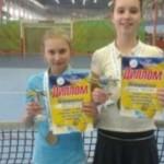 Черновчанка отметилась на теннисном туре до 12 лет в Луцке