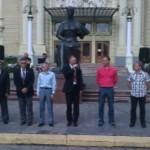 Чемпионат Украины по велоспорту торжественно открыли в Черновцах