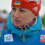 Украинская биатлонистка Валя Семеренко завоевала медаль в спринте