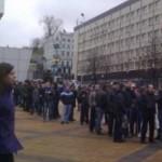 Фанаты устроили невиданные очереди за билетами на матч Украина — Франция