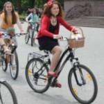 Велопарад девушек Леди на велосипеде проведут в Черновцах