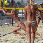 На Буковине проходит Лига пляжного волейбола