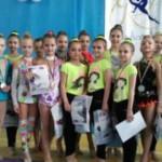 Маленькие кубани стали призерами i-го открытого турнира по гимнастике