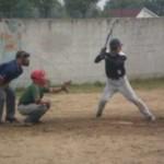 Черновицкие бейсболисты сыграли с чемпионом Украины