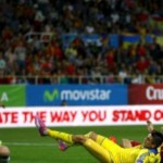Евро-2016: Сборная Украины проиграла Испании в матче отбора
